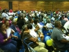 Crowd at the Hopi Veteran's Memorial Center